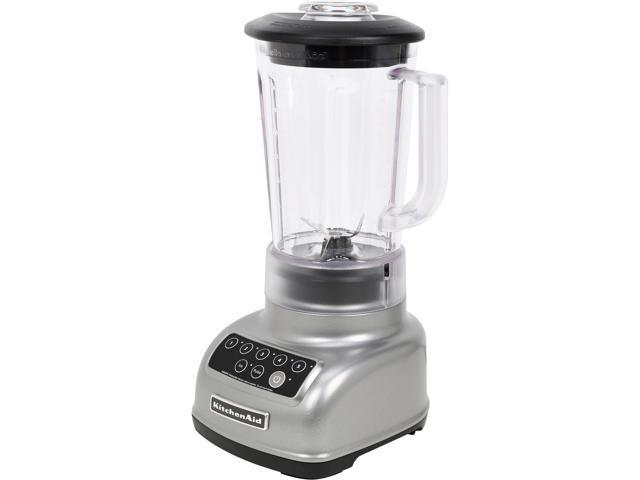 KitchenAid KSB1570SL Silver 56 oz. Jar Size Classic Blender 5 speeds