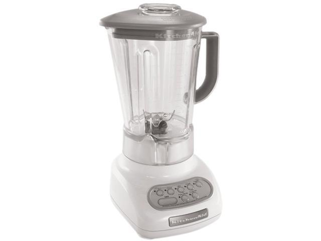 KitchenAid KSB1570WH White 56 oz. Jar Size Classic Blender 5 speeds