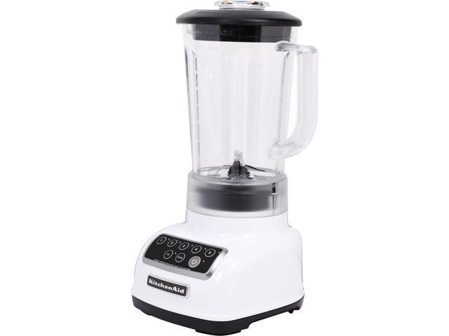 KitchenAid KSB1570WH White 56 oz. Jar Size Classic Blender 5 speeds