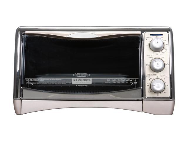 Black & Decker CTO4500S Stainless Steel Toast-R-Oven Classic Countertop