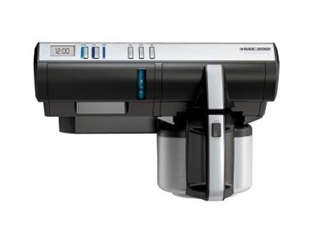 Black & Decker SDC850 Black/Steel SpaceMaker 8-Cup Thermal Coffeemaker