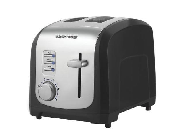 Black & Decker T2030 Black 2-Slice Toaster