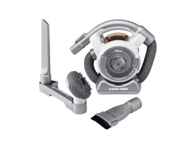 Cordless BLACK&DECKER FHV1200 Ultra Compact Cordless Vac With Flexible Hose Silver