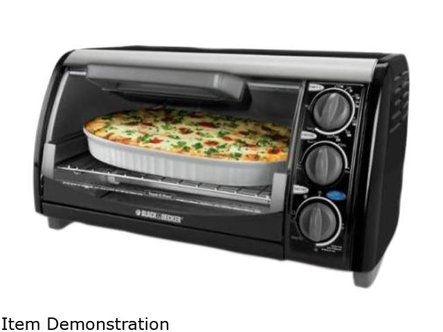 Black & Decker TRO490B 4 Slice Toaster Oven