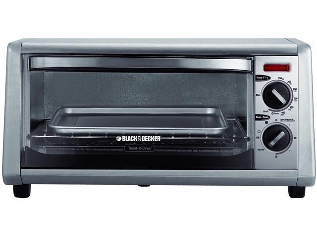 Black & Decker TO1430S Silver Countertop Toaster Oven