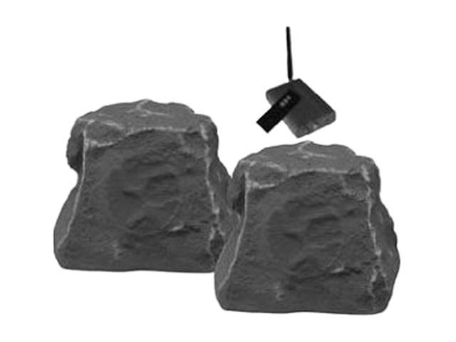 TIC TICWRS010SL Wireless Outdoor Rock Speakers (Slate) Pair