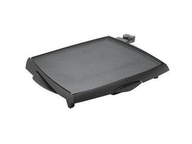 PRESTO 07046 Black Tilt'nDrain BigGriddle cool touch griddle