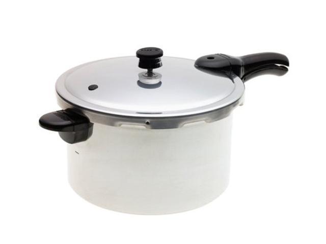 PRESTO 01282 8-Quart Aluminum Pressure Cooker