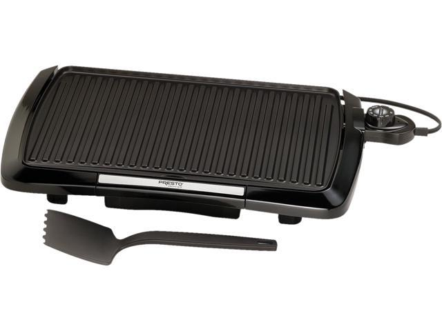 Presto Cool Touch Electric Indoor Grill 09020 Black
