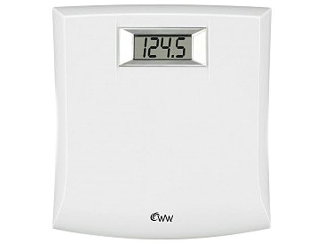 Conair WW204WN White Weight Watchers® Compact Precision Electronic Scale