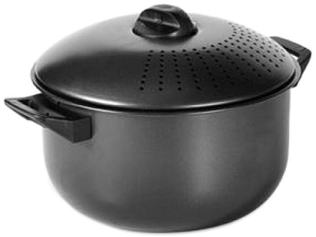 LIFETIME BRANDS 5094315 Pedrini 6 Qt Nonstick Carbon Steel Pasta Pot