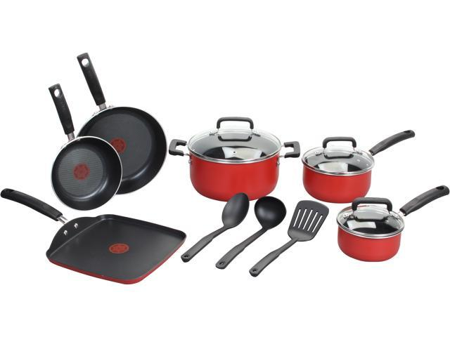 T-fal C112SC74 Signature Nonstick 12-Piece Cookware Set