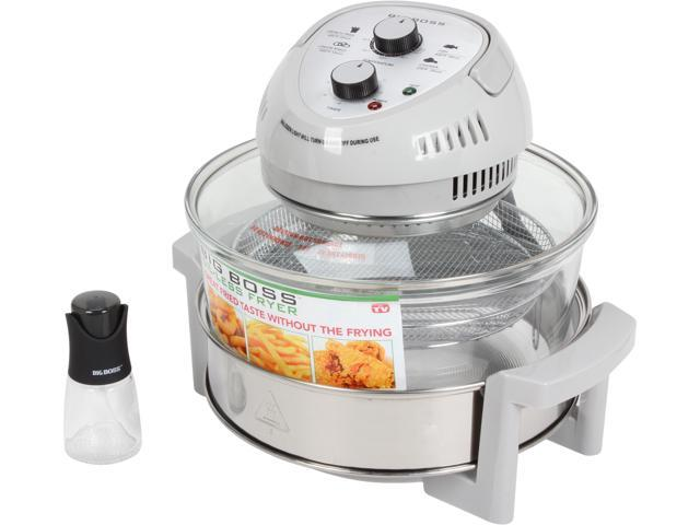 Big Boss 8605 Self-Cleaning Oil-Less Fryer SILVER