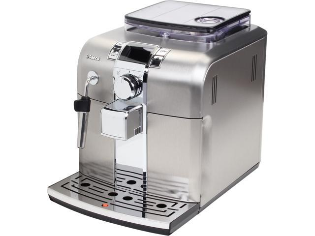 Saeco HD8837/47 Syntia Automatic espresso machine Stainless steel