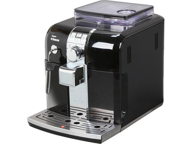 Philips Saeco HD8833/47 Automatic espresso machine, Syntia, Focus Black