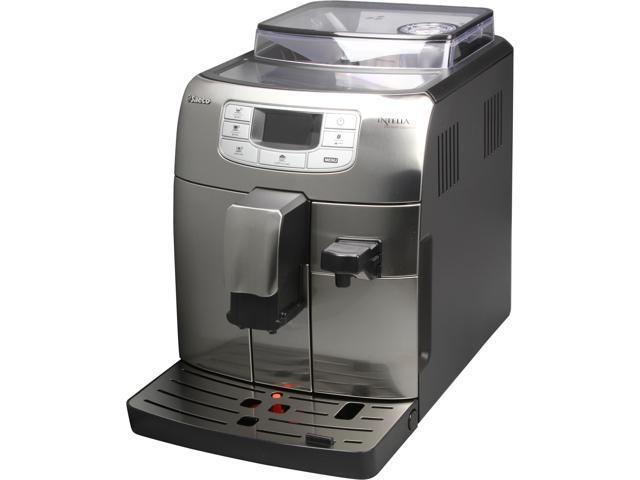 Saeco HD8753/87 Intelia Cappuccino Automatic Espresso Machine, Stainless Steel