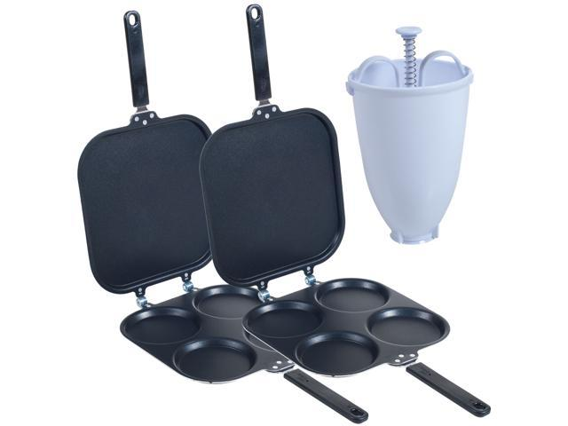 As Seen on TV 83-C412366 Perfect Pancake Maker with Batter Dispenser - Two Pans