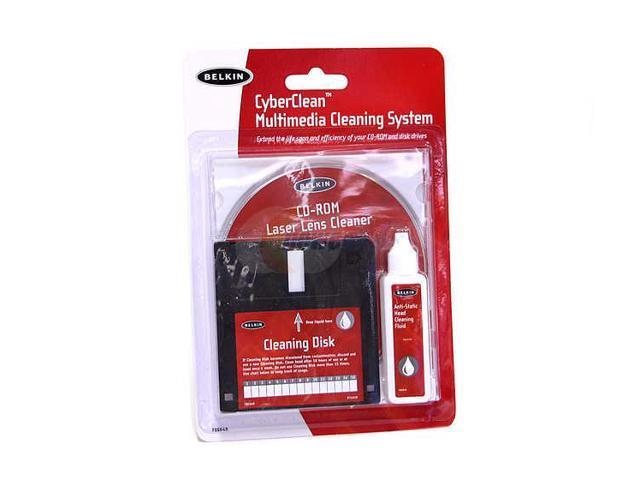 BELKIN F8E648 3.5IN CD DRV CLEAN KIT-DISK CD SOLUTION