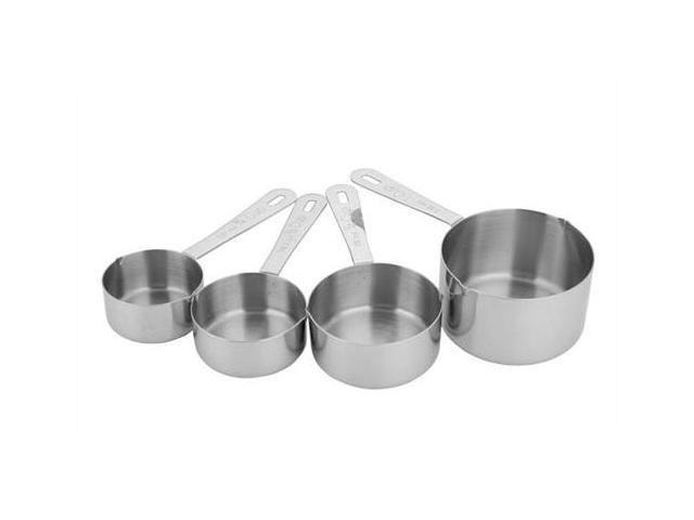 MIU France 92025 SS Measuring Cups 1/4 cup 1/3 cup 1/2 cup and 1 cup