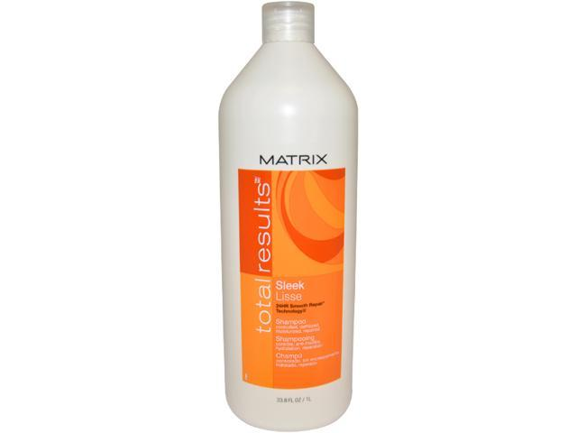Total Results Sleek Shampoo by Matrix for Unisex - 33.8 oz Shampoo