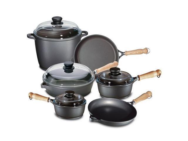 Berndes 674103 Tradition 10 Pc Cast Aluminum Non-stick Cookware Set