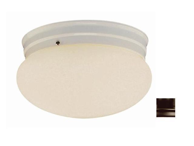 Trans Globe PL-3620 ROB Energy Efficient Mushroom Ceiling Globe 10 in. Wide In Bronze