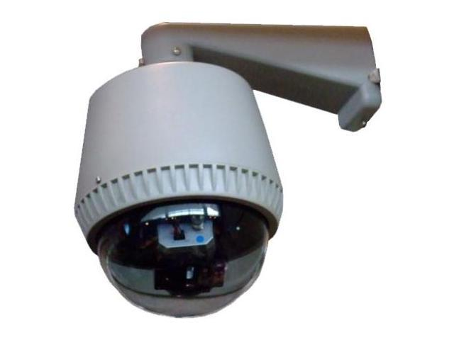 Home Vision Technology SEQ-4502 Vandal-Weatherproof Speed Dome Security Camera with .25 in. Sony CCD-480 TVL-30x Zoom