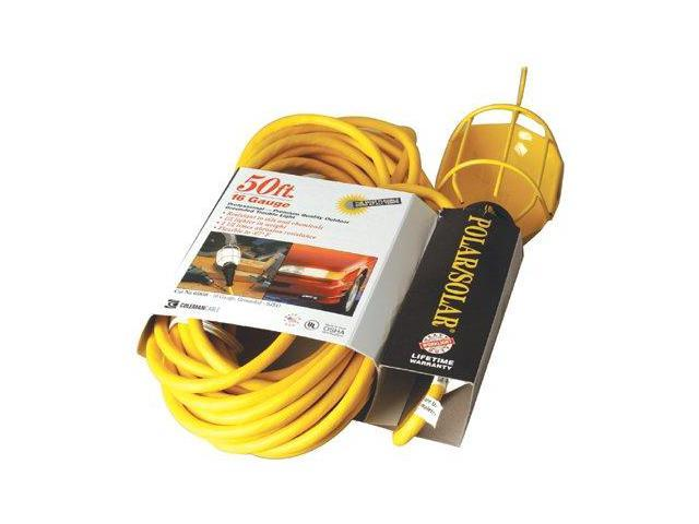 Coleman Cable 172-05657 25' 14-3 Sjeo Yellow Trouble Light 300V Ground