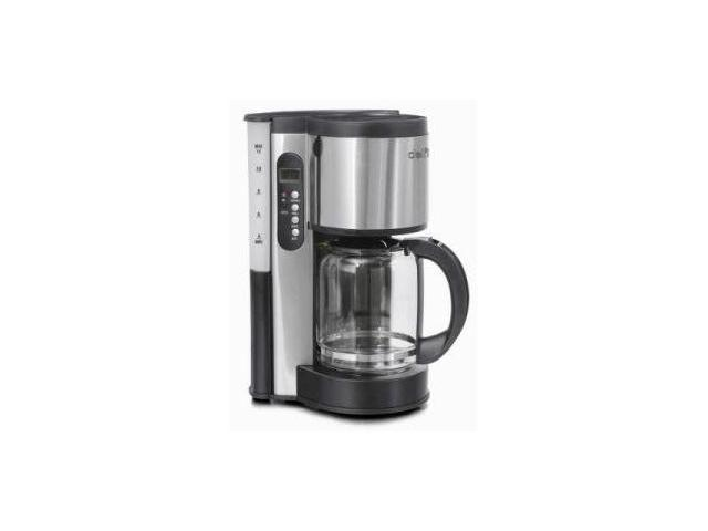 Toastess DLFC381 Delfino 12 Cup Stainless Steel Programmable Coffee Maker