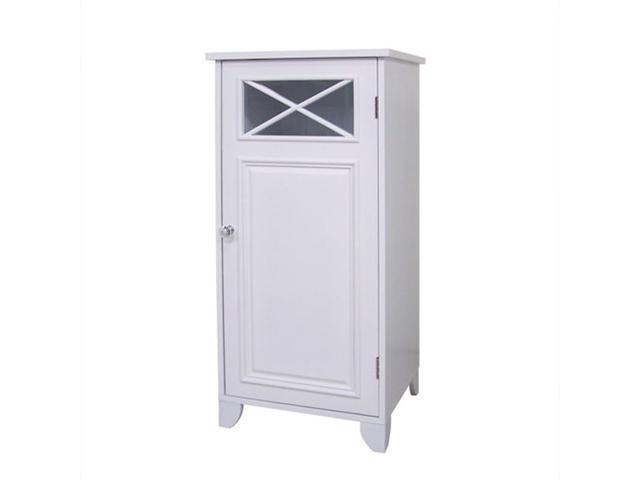 Elegant Home Fashions 6834 Dawson Floor Cabinet with One Door