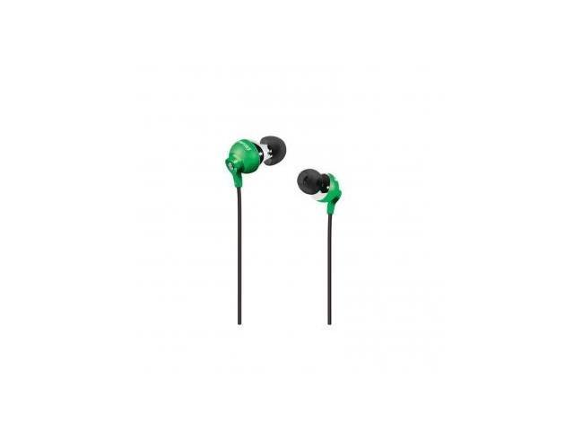 Polaroid PEP25GRN PEBBLE Stereo In-Ear Headphones- Green
