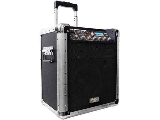 8 Inch Portable PA System W/MP3-Mic-Black - PCMX260MB