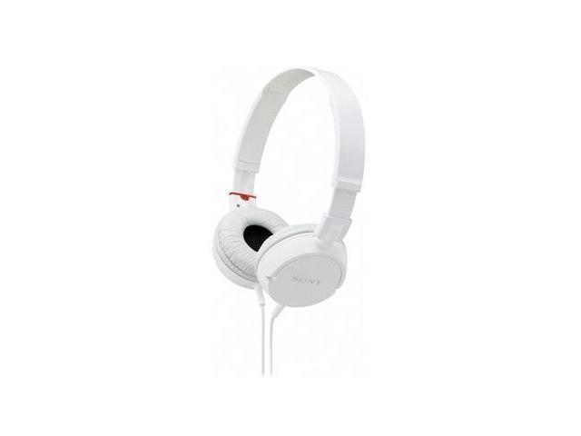 Sony Mdrzx100-Whi Zx Series Stereo Headphones - White
