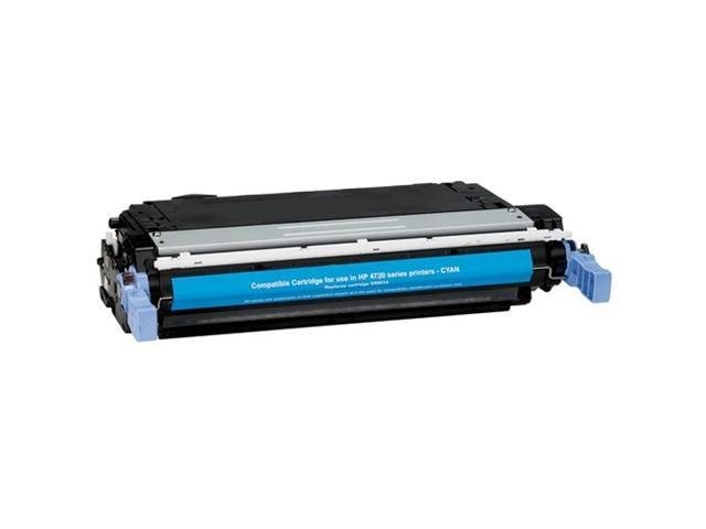 Compatibles-500 Series 500-Q6461A Cyan Toner Cartridge (OEM # HP Q6461A, 644A) 12,000 Page Yield