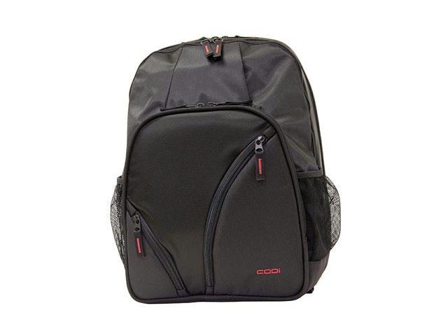 CODi C7710 Triple Compartment Tri Pak Backpack - Black