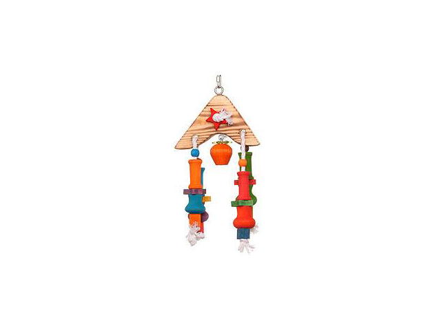 Parrotopia TOY 28 7 in. x 3 in. x 15 in. A-Frame