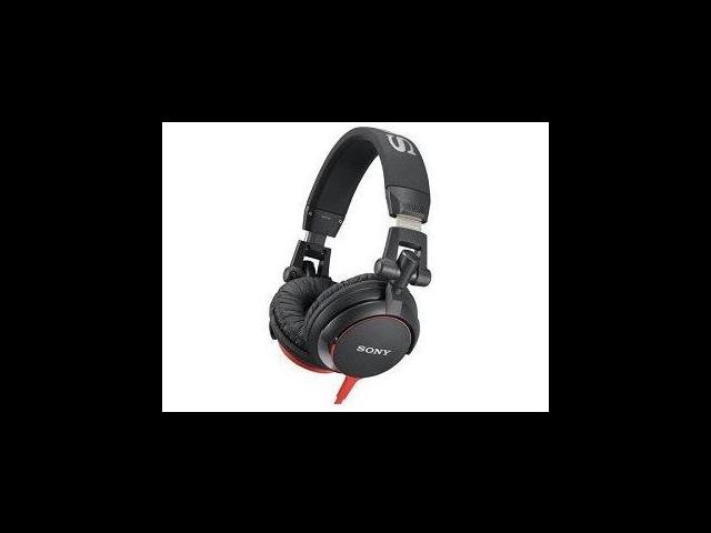 SONY MDRV55BR DJ Style Headphones - Black