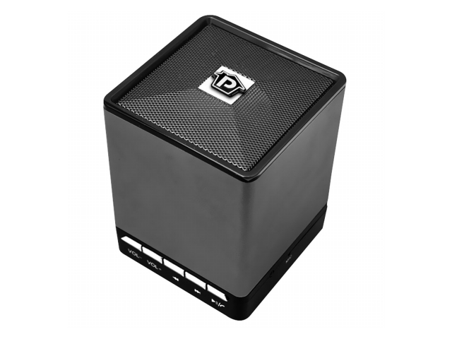 SOUND AROUND-PYLE INDUSTRIES PBS9BK Bluetooth Mini Cube Speaker with Handsfree Phone Function