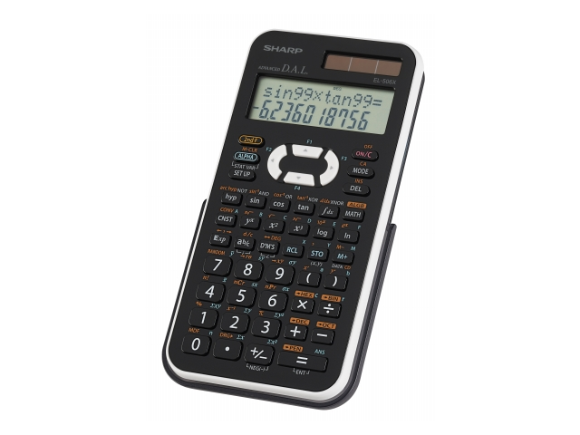 Sharp EL506XBWH 469 Function Scientific Calculator in stylish new cabinet with white back cover