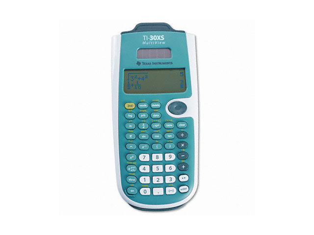 Texas Instruments TI30XSMV Scientific Calculator- 16-Digit LCD
