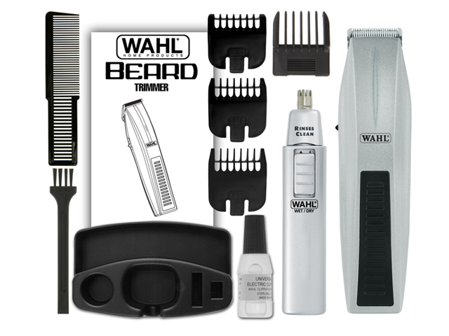 Wahl 5537-420 Wahl wireless men's beard trimmer and ear/nose trimmer
