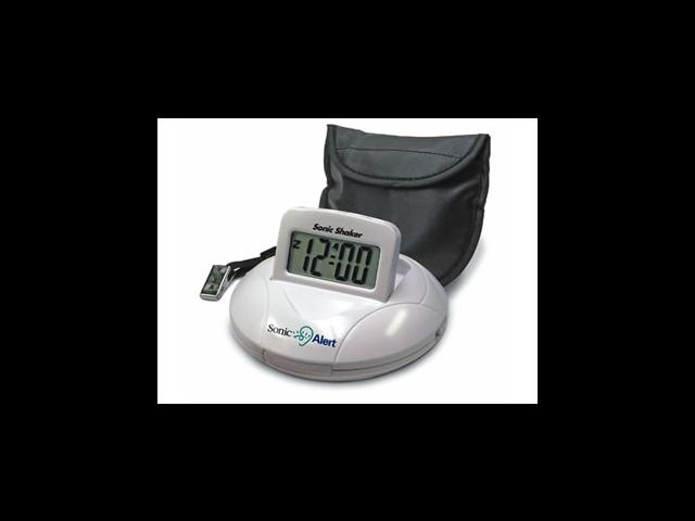 Sonic Bomb SA-SBP100 Sonic Bomb Travel Alarm Clock