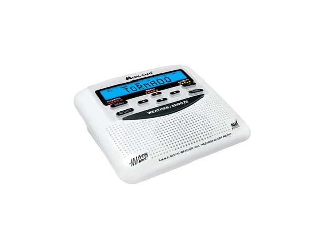 Midland Weather Alert Radio With Alarm Clock
