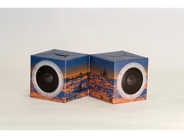 OrigAudio Foldinplay Recycled Speakers FNPSURFBREAK