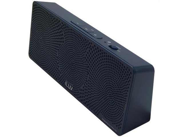 ILUV ISP202BLU MobiTour Portable Bluetooth(R) Stereo Speaker (Blue)