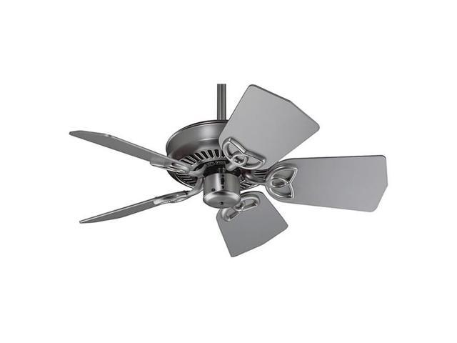 Craftmade PI30BN 29 Inch Max Air Ceiling Fan - Brushed Nickel- Blades Sold Separately- Blades are Not Included