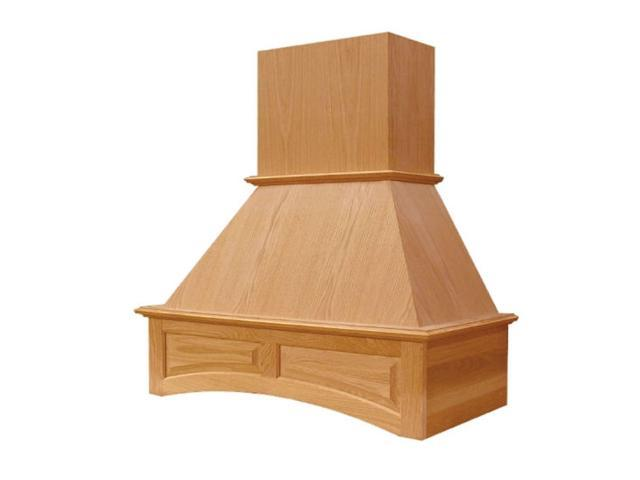 Hardware Distributors QNPR2642SMB1OUF1 42 in. Wide Arched Signature Range Hood - Red Oak