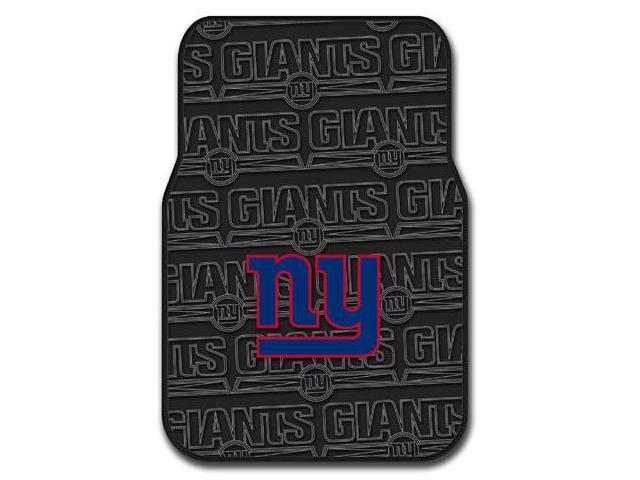 Northwest NW-1NFL343000081RET New York Giants Set of Rubber Floor Mats