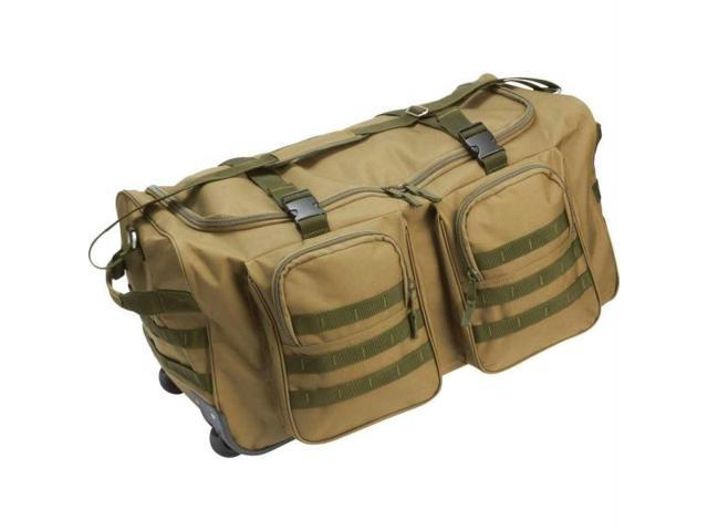 Extreme Pak Water-resistant 26 in. Wheeled Duffle Bag - LUWD26GR