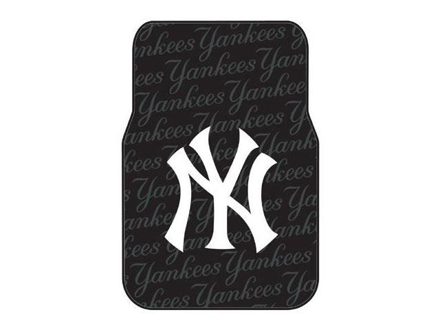 Northwest NW-1MLB343000020RET New York Yankees Set of Rubber Floor Mats